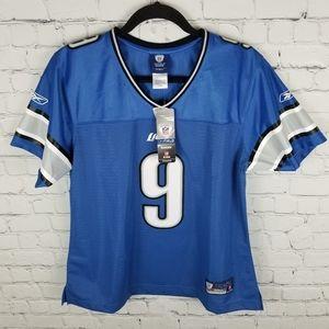 NFL | Reebok Detroit Lions #9 Stafford jersey